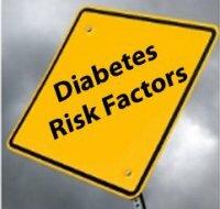 Факторы риска развития различных типов сахарного диабета