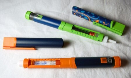Шприц-ручки существенно облегчают введение инсулина