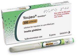 Алгоритм расчета дозы инсулина Toujeo SoloStar 300